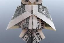 35个美丽的美元折纸艺术