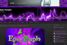 28个紫色系的网站设计