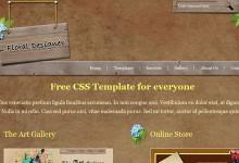 25个免费的PSD网站模版下载