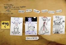 50个给你灵感的手绘网站设计
