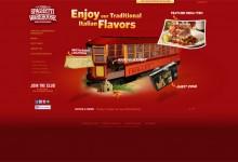 40个创意的饮食行业网站设计