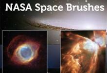 35组以太空为主题的免费Photoshop笔刷集