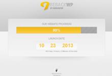55个创意的建设中页面设计和WordPress主题