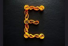 54个创意的手工制作字体