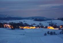 35张漂亮的冬天雪景摄影照片