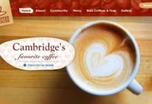 30个给你灵感的咖啡网站设计