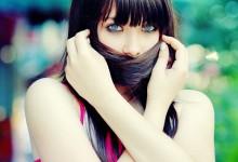 23张漂亮的背景虚化人像摄影照片