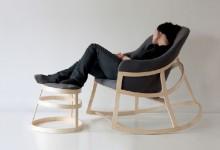 创意家具:摇摇椅Dancing Chair
