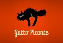 26个以猫为主题的创意Logo设计