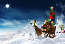 30张梦幻的圣诞节桌面壁纸下载