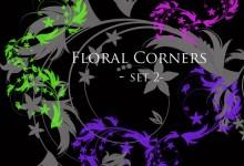 30个免费的Photoshop花朵笔刷下载