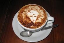51个精美的咖啡拉花艺术作品