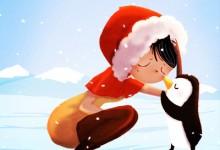 29张以冬雪为主题的艺术插画