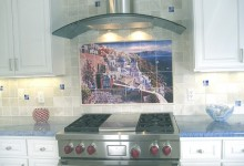 25个美丽的厨房防溅墙设计