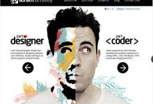 30个优秀的白色系网页设计
