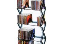 创意时尚的5层CD架
