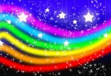 35张惊艳的彩虹背景素材下载