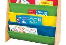 创意的儿童多彩书架