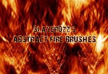 25组免费的火焰效果Photoshop笔刷下载