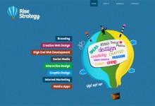 38个漂亮的蓝色系网站设计
