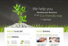 50个创意的网站PSD模板免费下载
