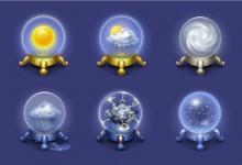 40组与天气有关的Icon图标免费下载