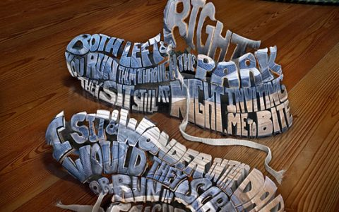 30个以字体为创意的创意广告