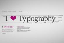 43个创意的字体设计桌面壁纸