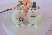 35张创意的婚礼蛋糕摄影照片