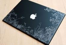 27个创意的笔记本贴花设计