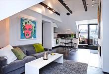 54平方的奢华与精美的家居空间