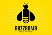 18个以蜜蜂为主题的创意Logo设计