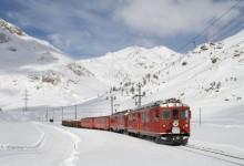 66张洁白迷人的雪山摄影照片