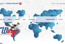 26个航空公司的网站设计欣赏