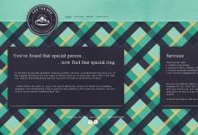 35个运用纹理背景的网页设计作品