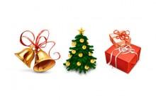 42组与圣诞节有关的素材文件下载