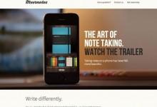 36个时尚创意iPhone App网站设计