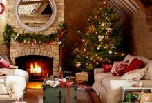 30张温馨的圣诞节房间装饰照片