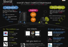 20张漂亮的手绘网站设计参考