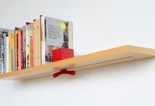 创意的书架挡板设计