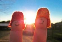 30张创意搞笑的手指摄影照片