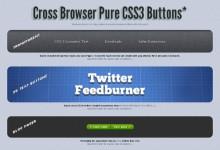 18个按钮的3D效果CSS3模板下载
