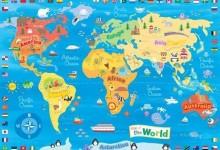 39个创意的另类世界地图画法