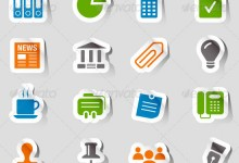 36组免费的Icon图标集PSD文件下载