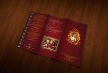 33个创意的餐厅宣传手册设计案例