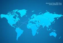 21个关于世界地图的设计素材下载