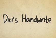 24个免费的手写字体下载