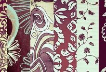 41组复古风格的纹理背景下载