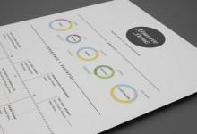 32个优秀的创意简历设计作品