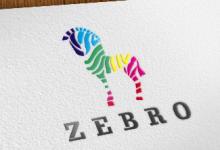 16个以斑马为主题的创意Logo设计
